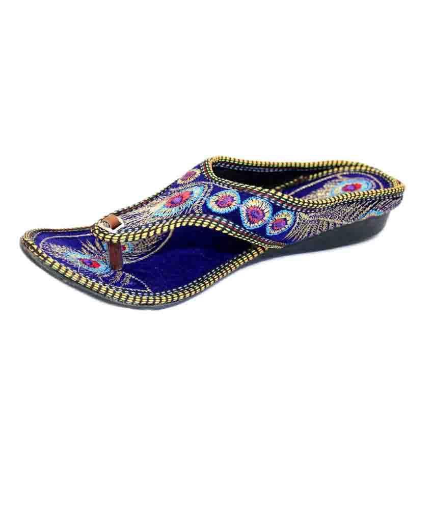 Jaipuri Shop Multi Color Flat Flats