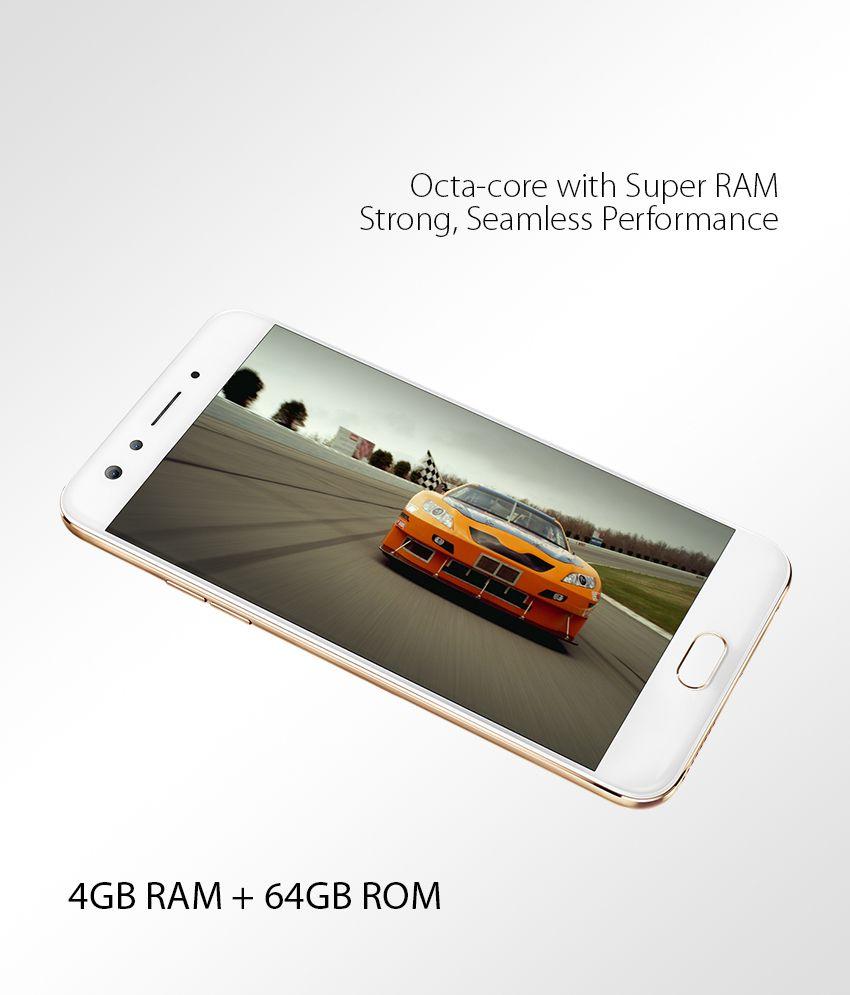OPPO F3 (Gold, 64 GB) (4 GB RAM)