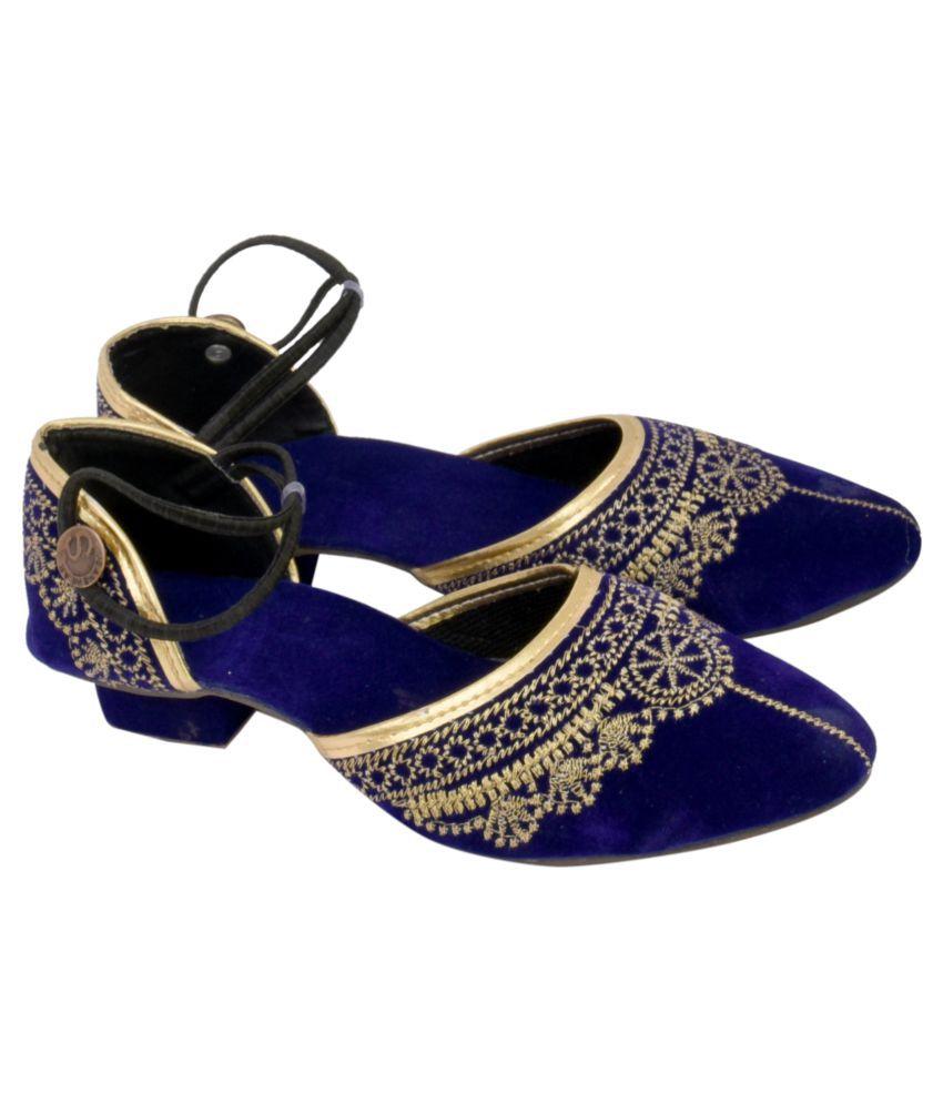 Decot Paradise Blue Block Heels