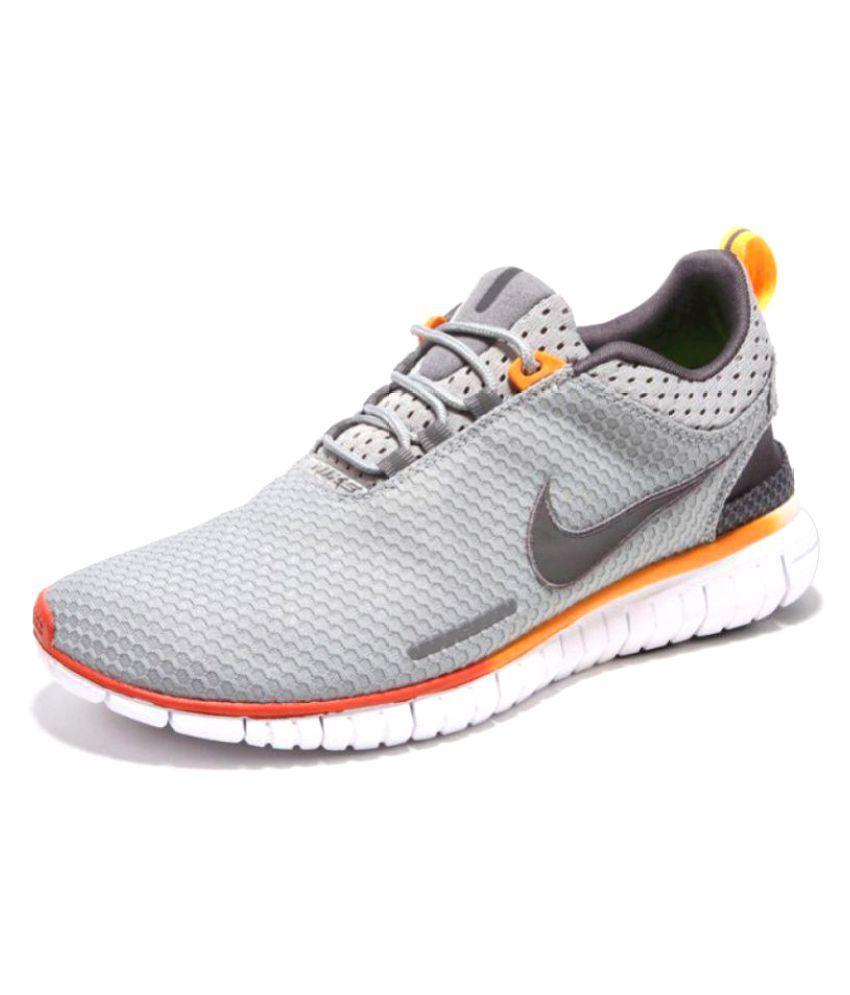 b116e59cc558e Nike Free OG Breathe Gray Training Shoes - Buy Nike Free OG Breathe ...