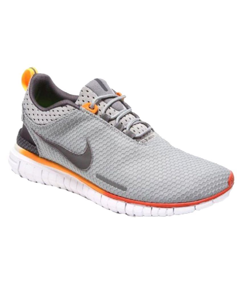 Nike Free OG Breathe Gray Training Shoes - Buy Nike Free ...