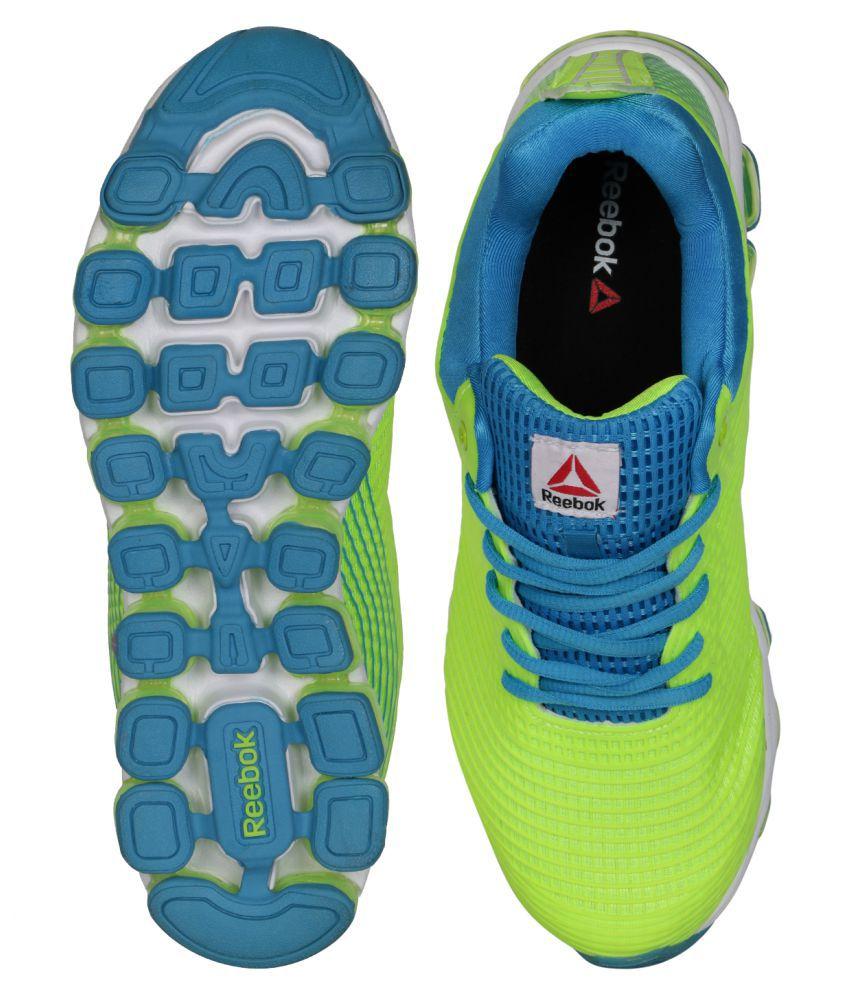 865d0d5bc59 reebok jetfuse run yellow running shoes off