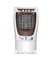 Bajaj Coolest 43 Ltr DC 2015 Icon Desert Cooler - For Large Room (White/Brown)