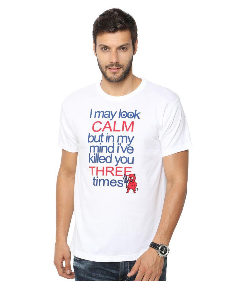 Globus White Round T-Shirt
