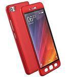 Vivo Y55 litres Plain Cases 2Bro - Red