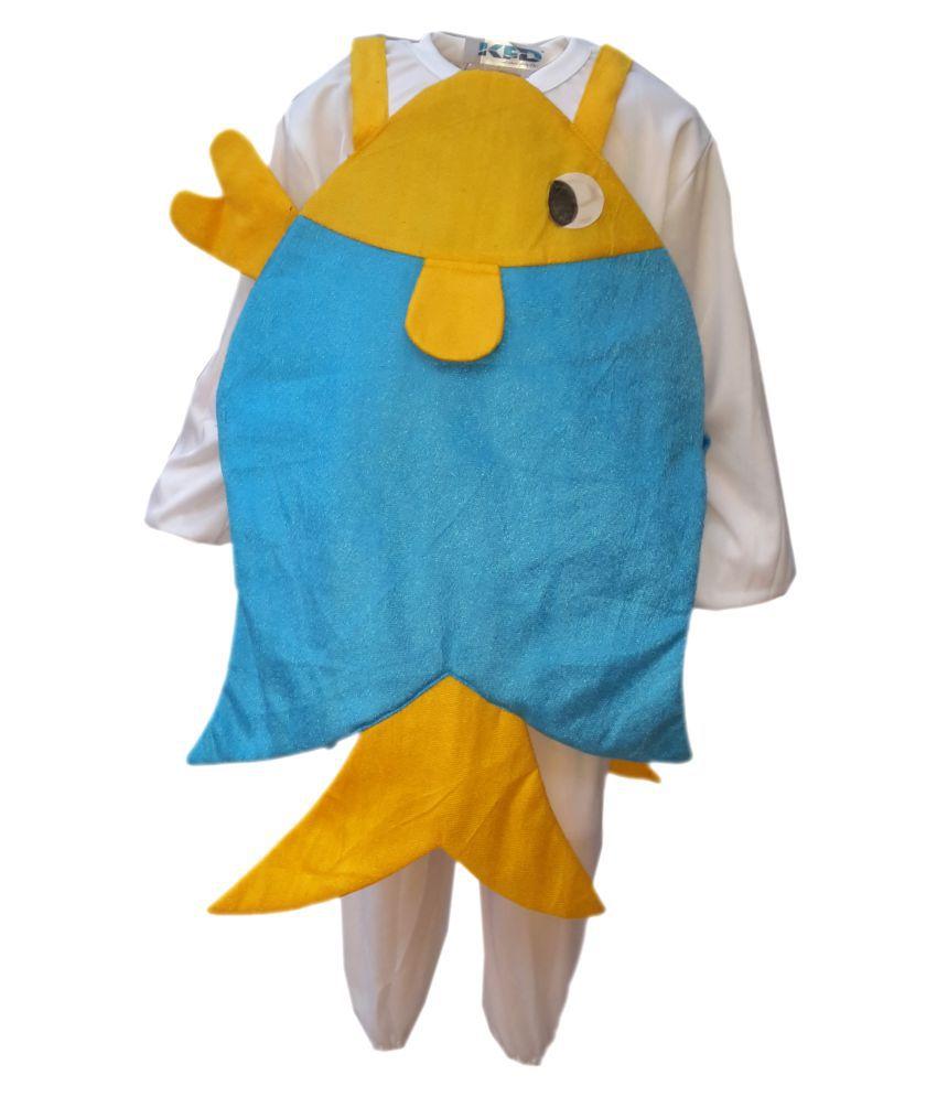 KFD Dori Fish fancy dress for kids,Water Animal Costume for School ...