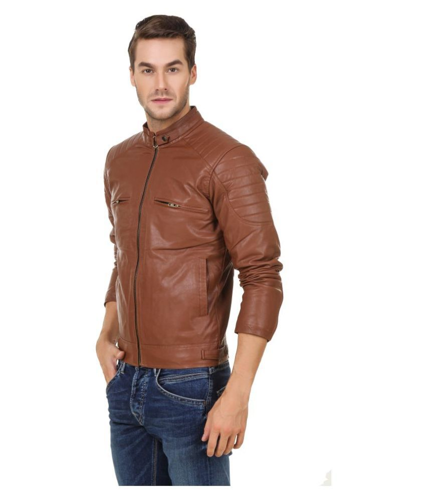d7aaf3401f0 Leather Retail Brown Leather Jacket Leather Retail Brown Leather Jacket ...