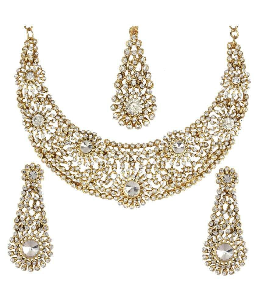 Penny Jewels Alloy Traditional Fashion Designer Gold Plated Latest ...