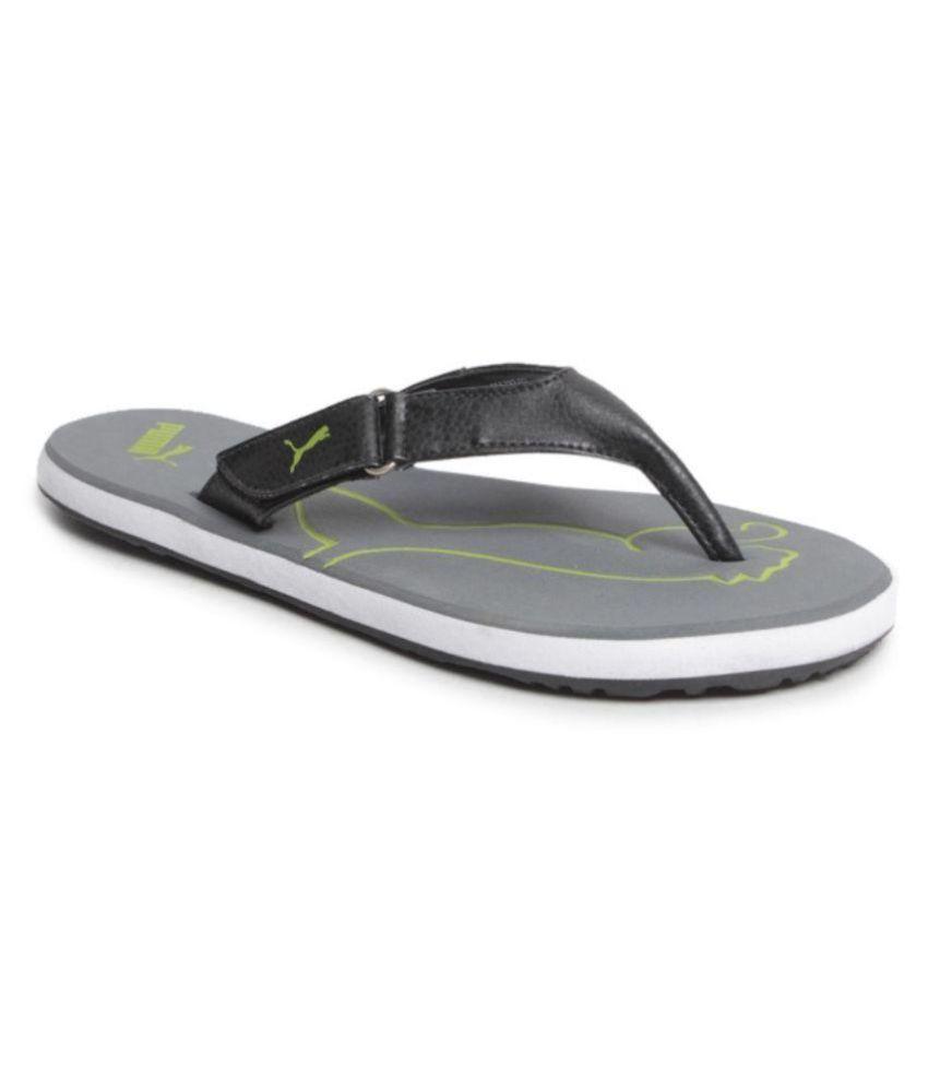 Puma Black Thong Flip Flop Price in