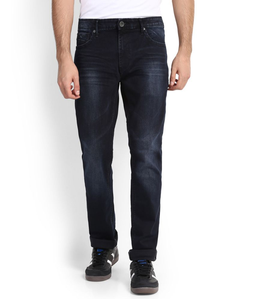 United Colors of Benetton Black Regular -Fit Jeans