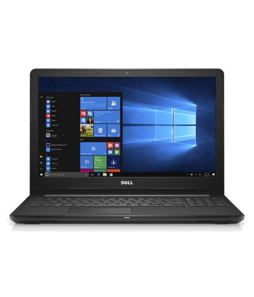 Dell Inspiron 15-3567 15.6-Inch Laptop (Core I3 6Th Gen -6006U/4GB/1TB/Windows 10/Integrated Graphics) With Preloaded MS Office 2016 Home & Student