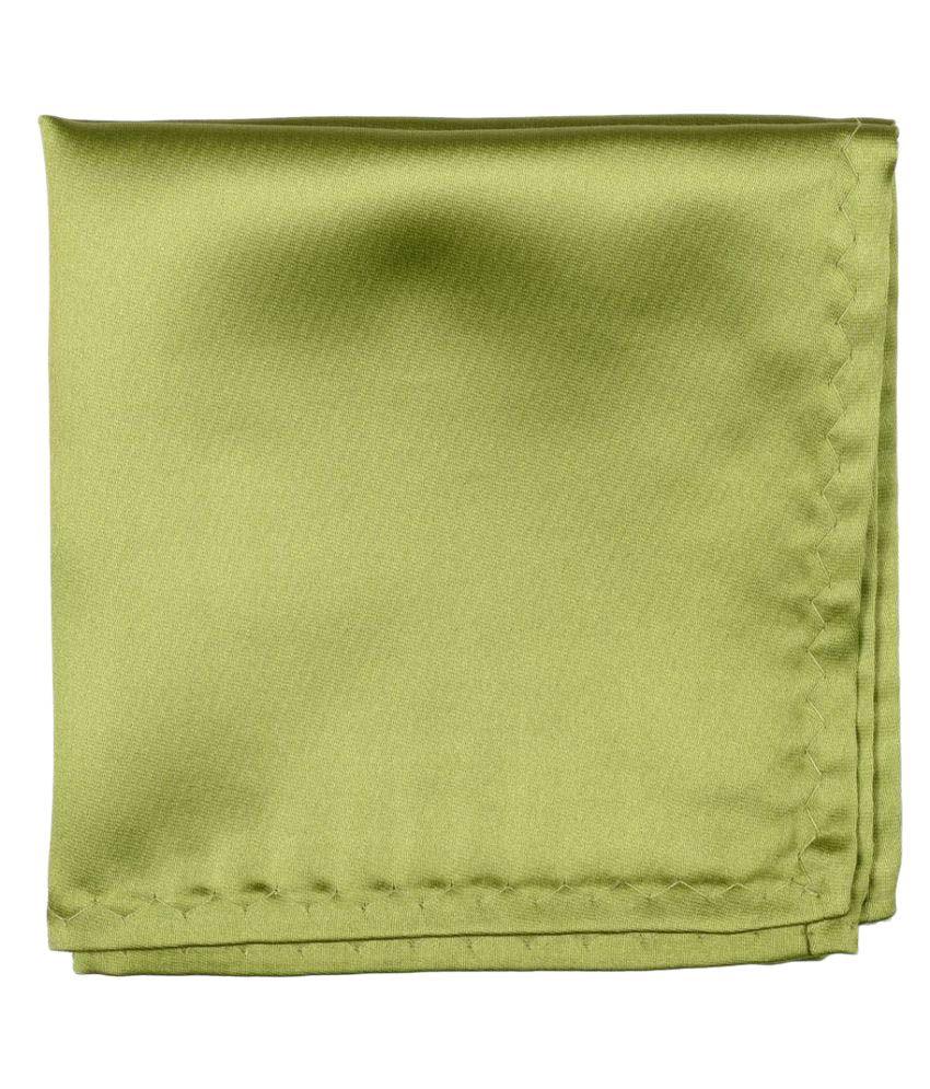 Lino Perros Green  Pocketsquare