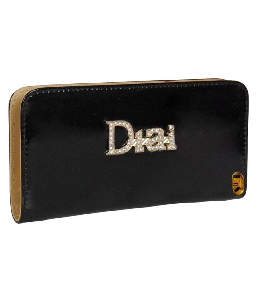 L'Authentique Black Wallet