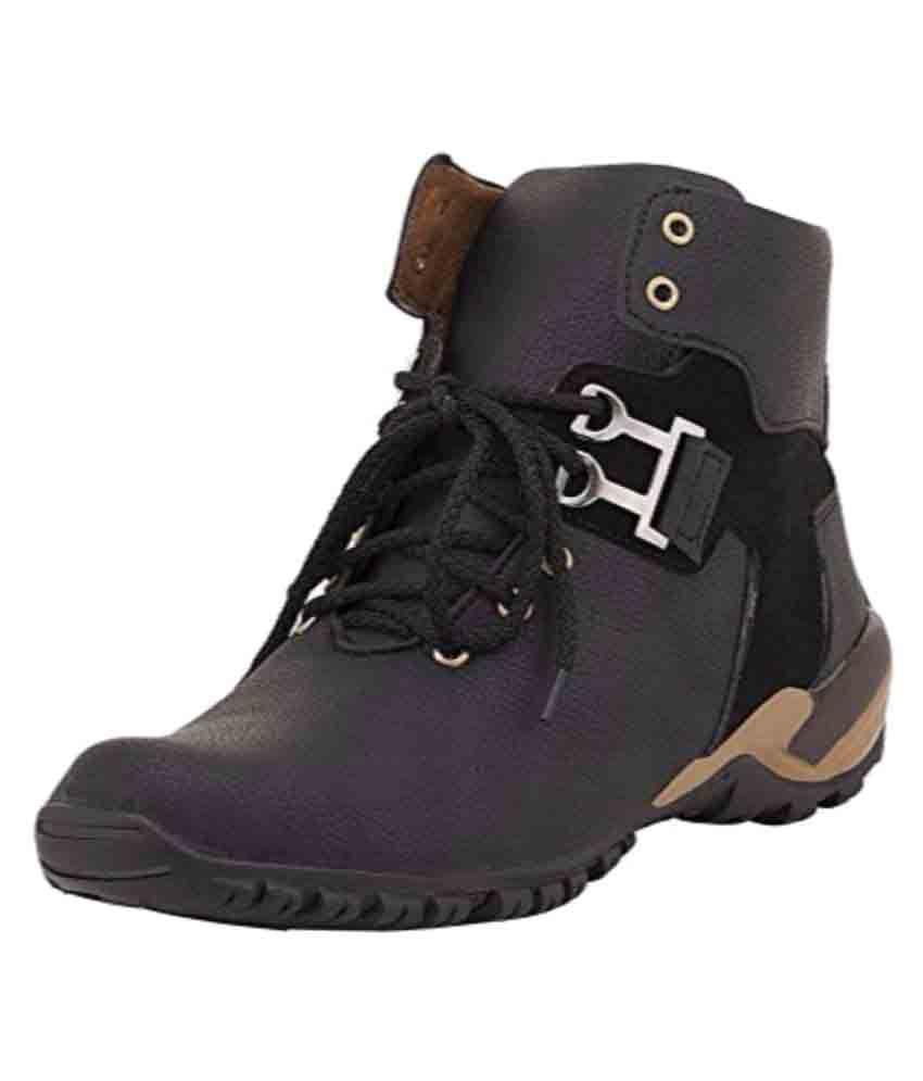 FKC Black Casual Boot