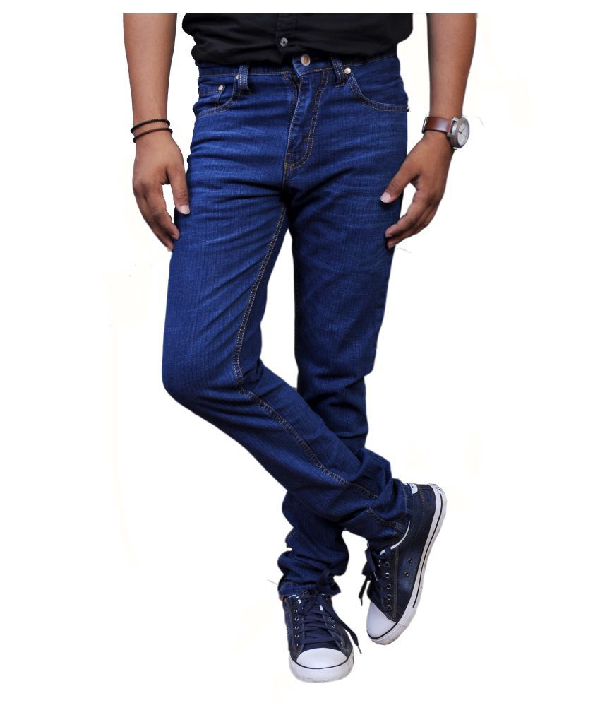 Nebraska Blue Slim Jeans