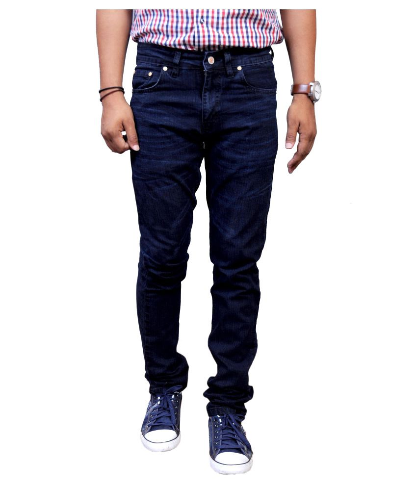 Nebraska Dark Blue Slim Jeans