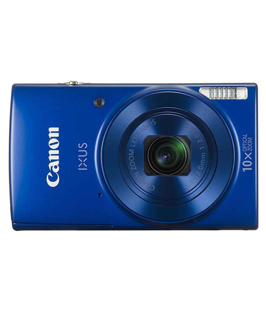 Canon IXUS 190 Point and Shoot Camera(Black 20 MP) IXUS 190