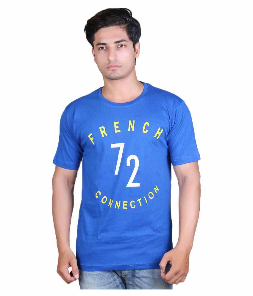 Finger's Blue Round T-Shirt