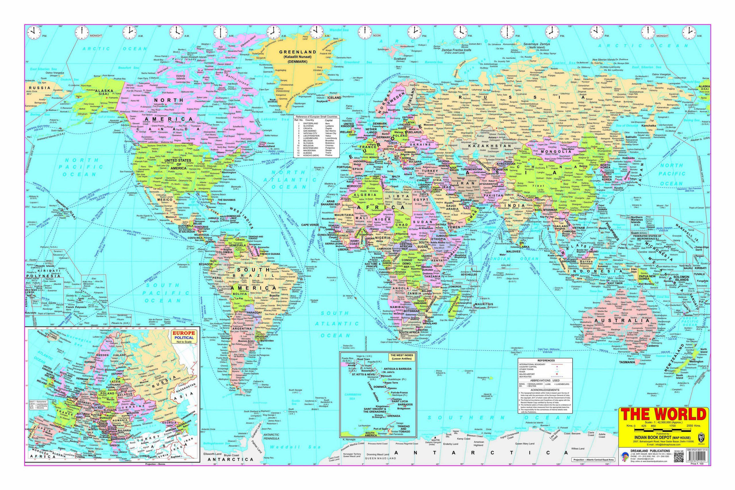 World Map Buy World Map line at Low Price in India on Snapdeal
