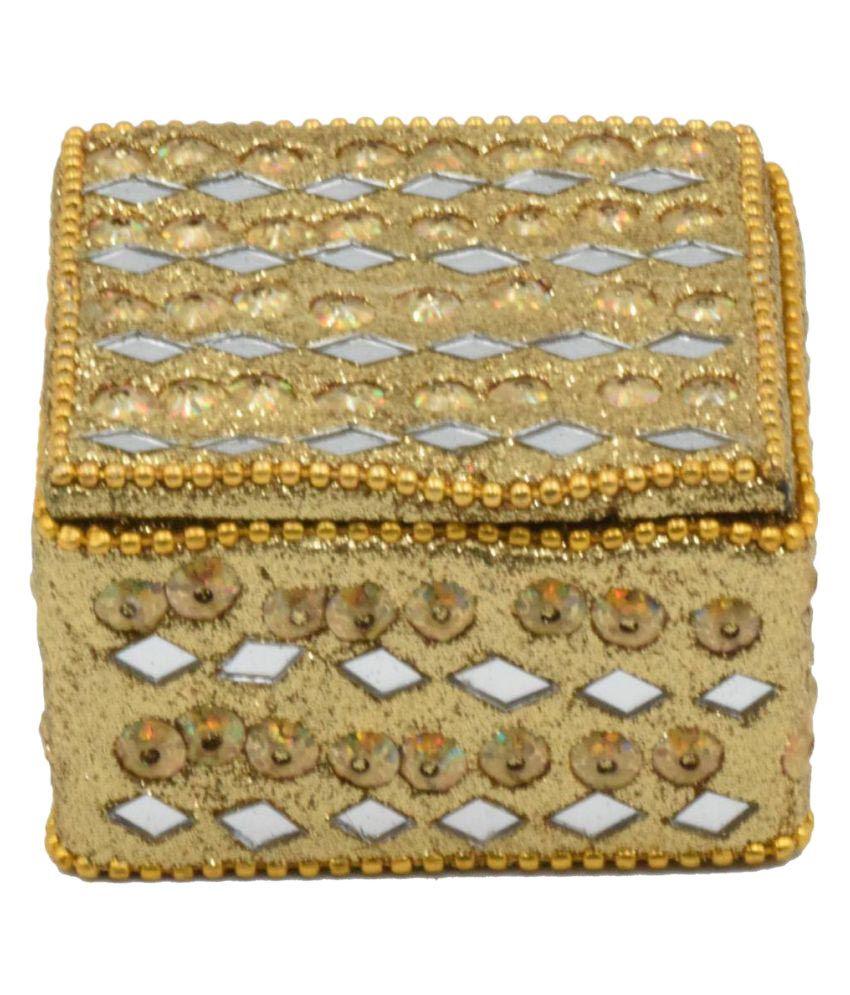 Nuovo Fashion Golden Designer Combo Jewellery box