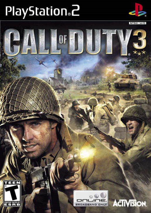 Call Of Duty 3 ( Ps2 ) Snapdeal Rs. 398.00
