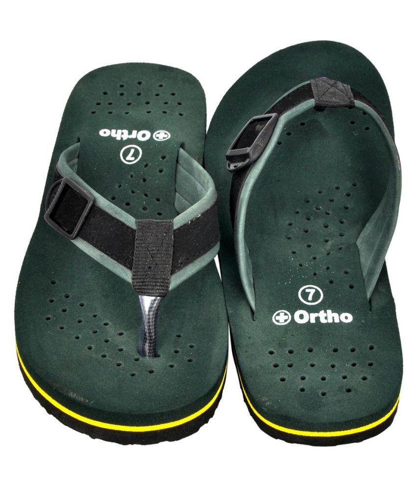 2682243fa4 Altek Orthopedic Green Daily Slippers Price in India- Buy Altek ...