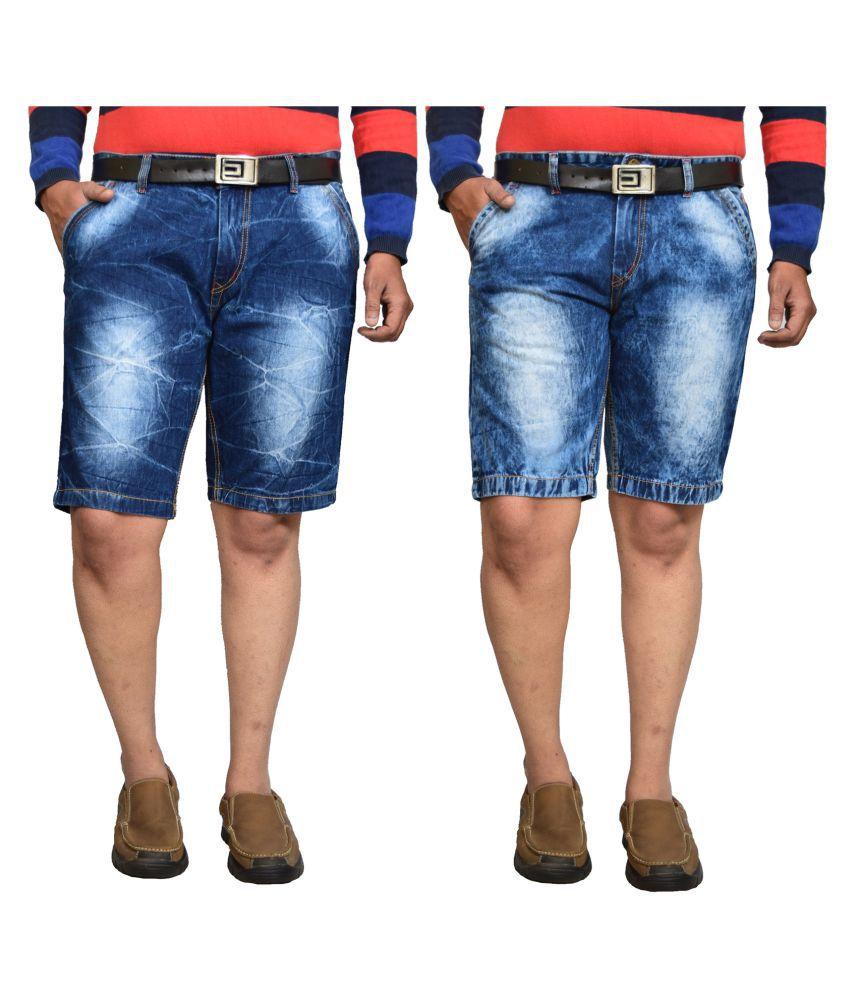British Terminal Blue Shorts 2 shorts