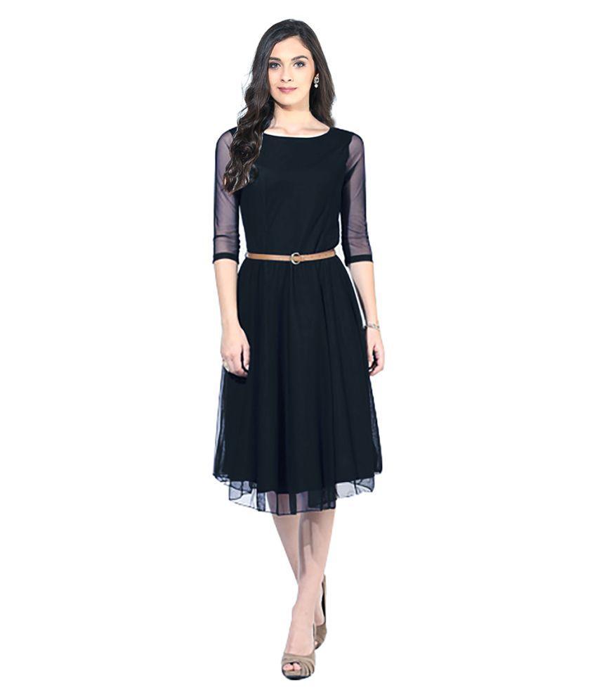 Fabfirki Net Dresses