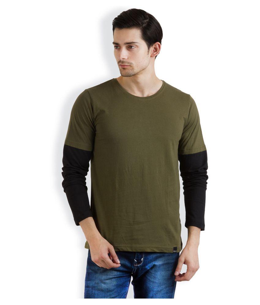 Rigo Green Round T-Shirt
