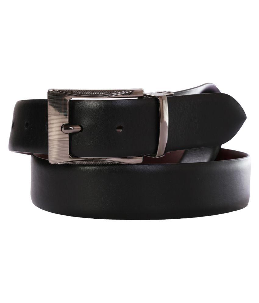 Schmick Black Leather Formal Belts