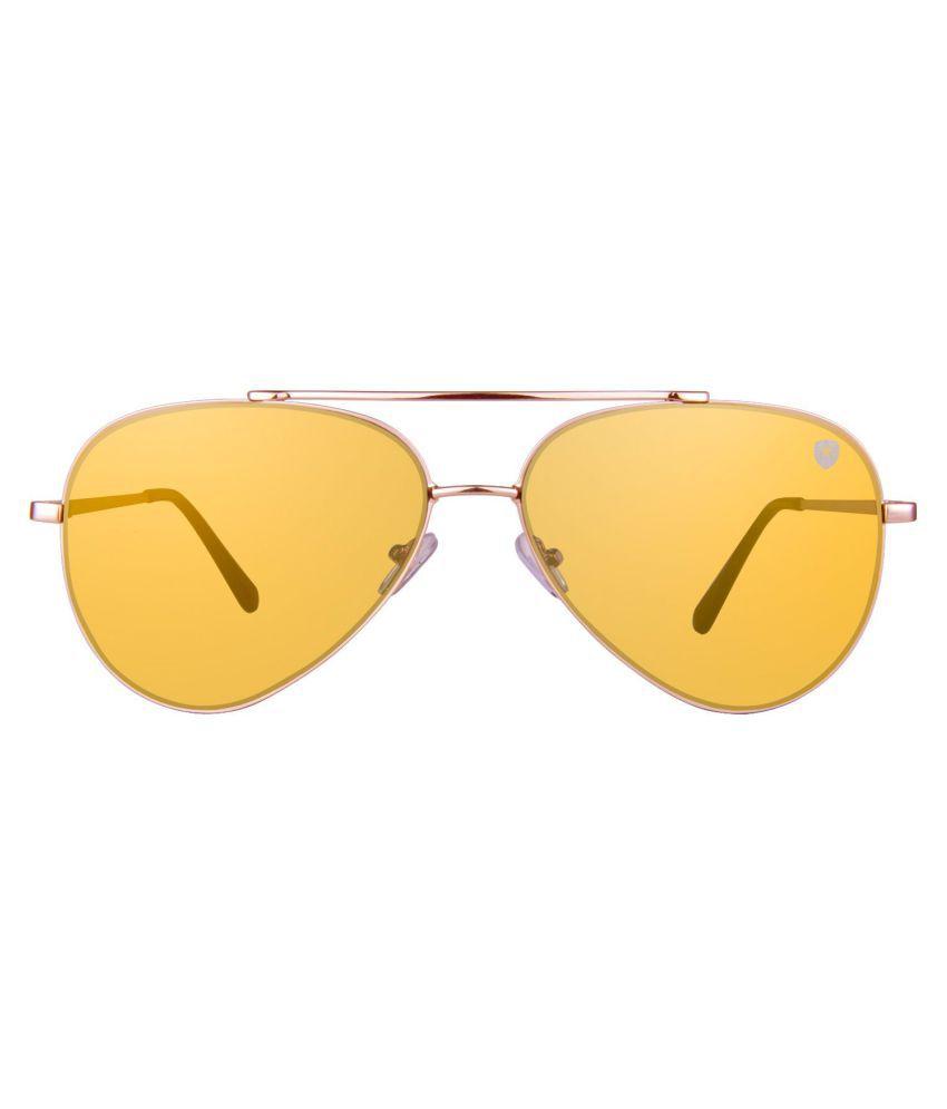 d2e48d78c492 TOM MARTIN Golden Aviator Sunglasses ( (TM-1683) Spade – Flat Aviator ) -  Buy TOM MARTIN Golden Aviator Sunglasses ( (TM-1683) Spade – Flat Aviator )  Online ...