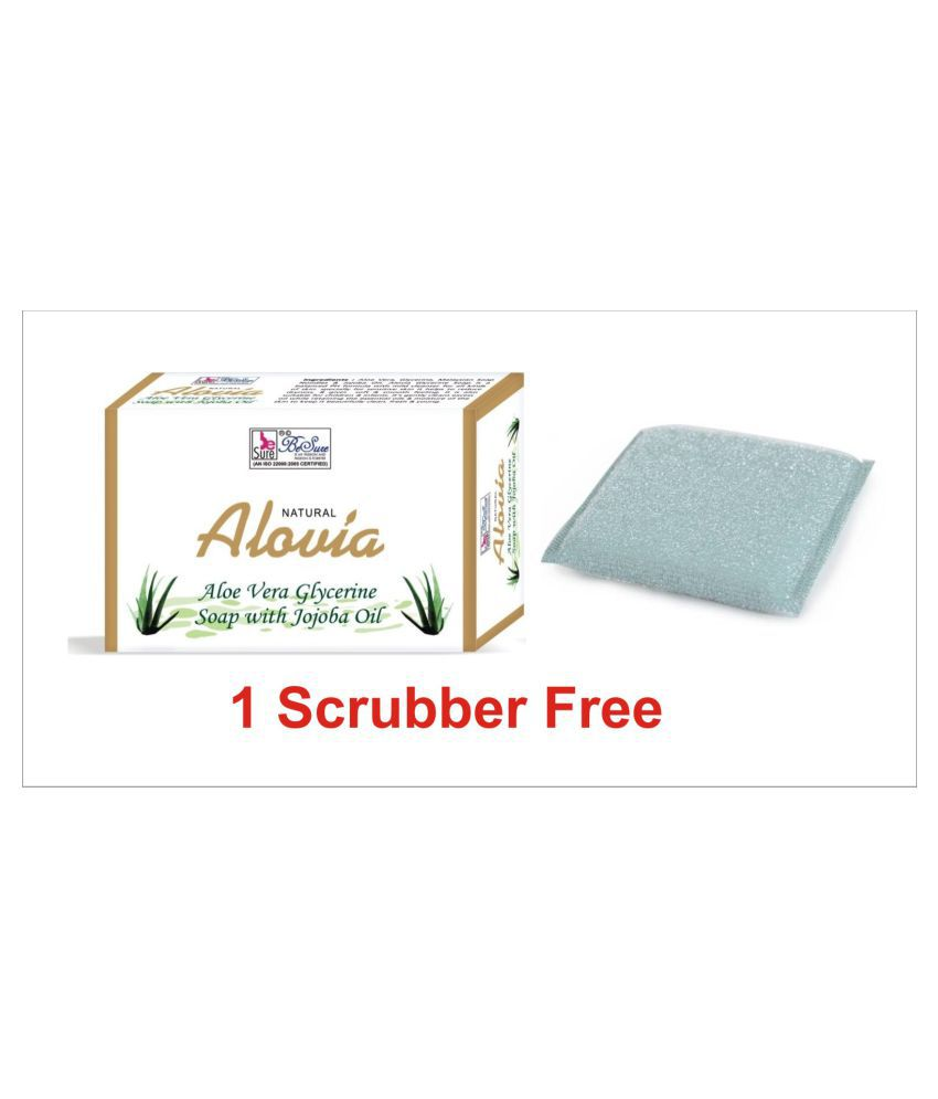 Besure Aloe Vera Soap 75g-1 Scrubber Free Soap 75 Gm Snapdeal Rs. 30.00