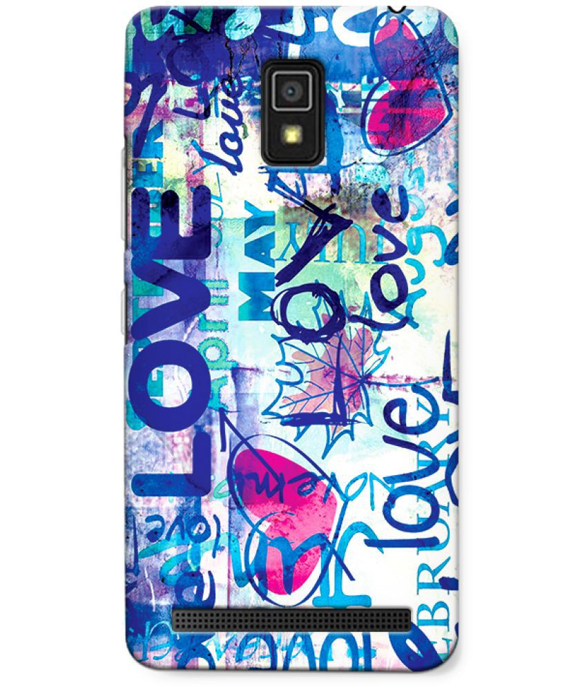 Lenovo A6600 Printed Cover By CRAZYINK