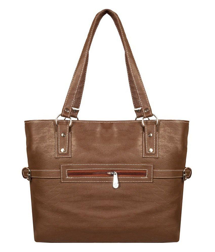 Louise Belgium Brown Non Leather Shoulder Bag