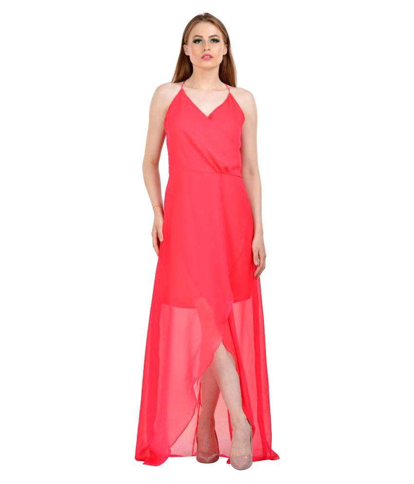 Karmic Vision Georgette Dresses