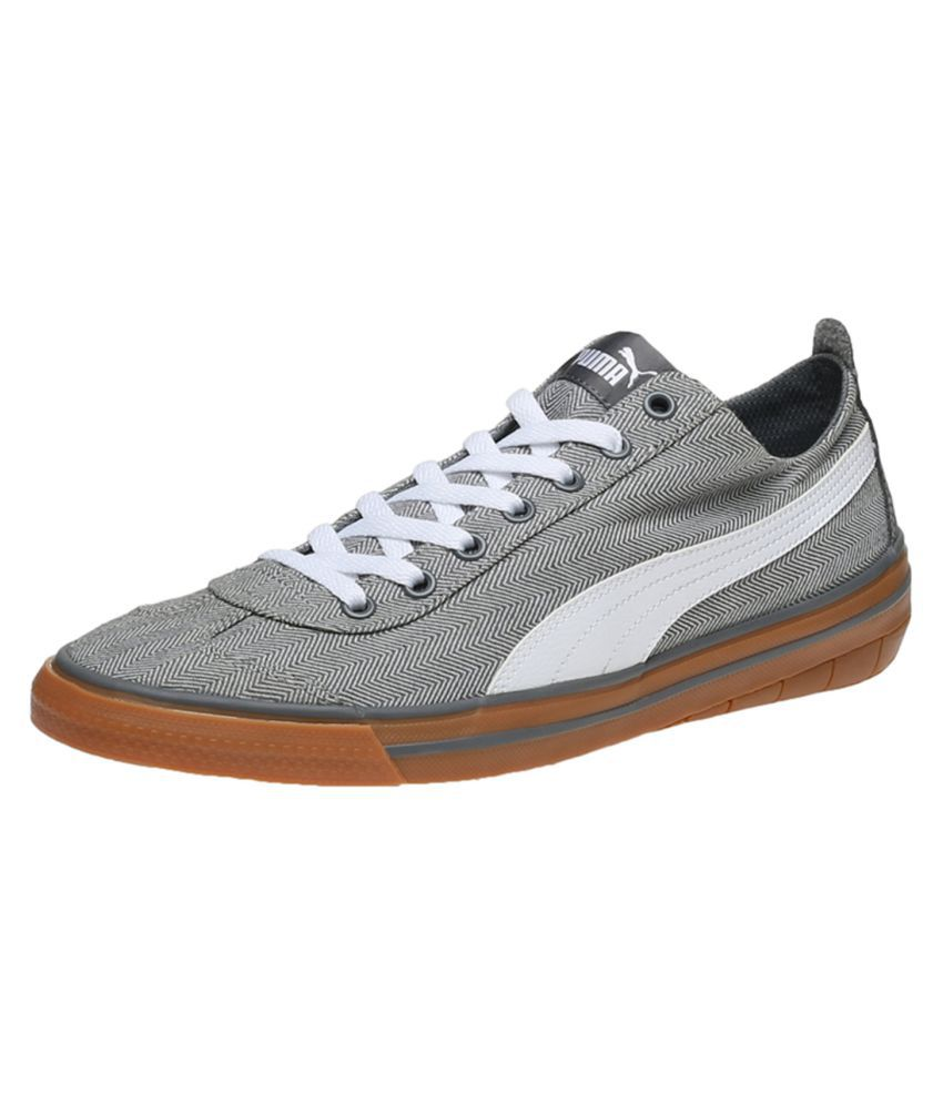 Puma 917 FUN Herringbone IDP Sneakers Gray Casual Shoes - Buy Puma 917 FUN  Herringbone IDP Sneakers Gray Casual Shoes Online at Best Prices in India on  ... a507859b3