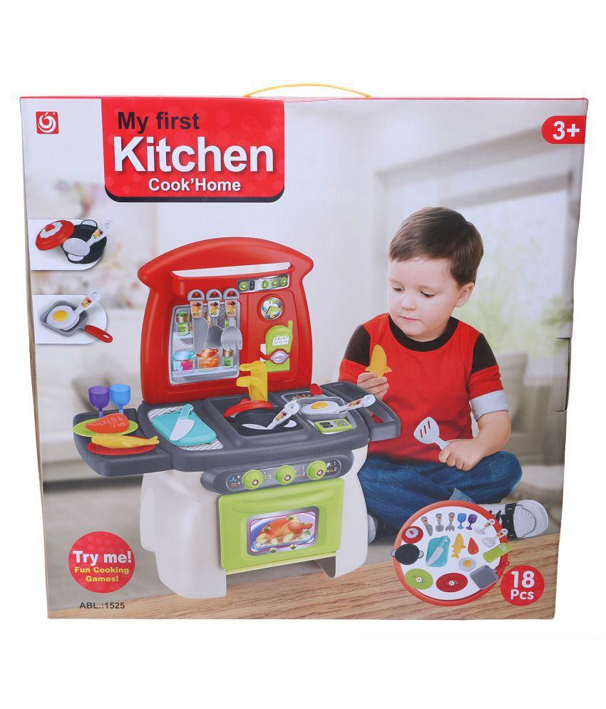 Mefast My First Kitchen Toy Set For Kids 18 Pieces