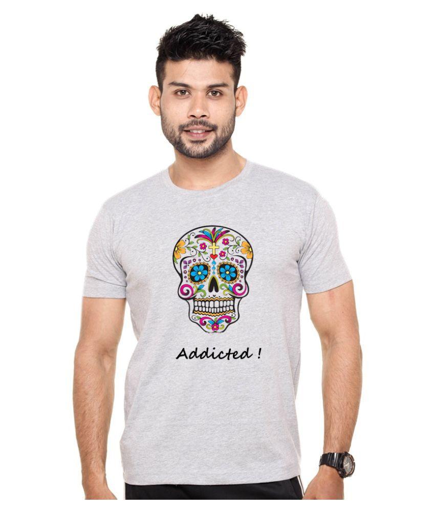 Shape X Grey Round T-Shirt