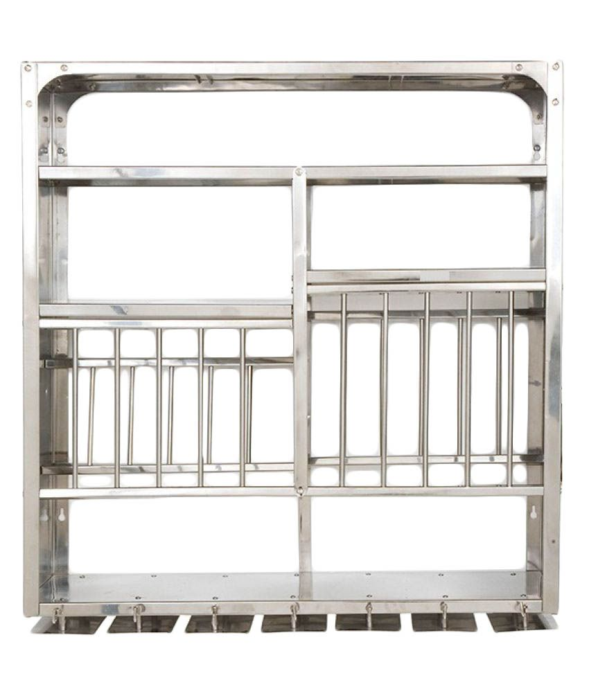 Buy Rbj Stainless Steel Utensils Rack Online At Low Price