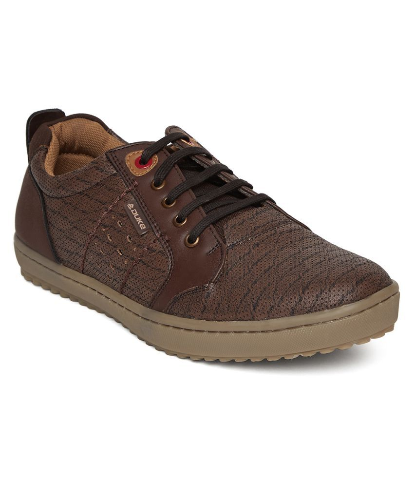 Duke Outdoor Brown Casual Shoes