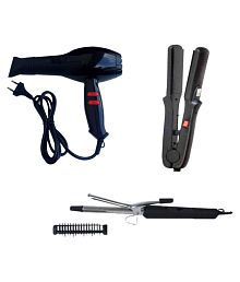 Grind Sapphire Curler. Straightener, Chaoba Hair Dryer ( Multi Color )