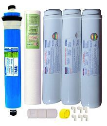 Ro Service Inline Filter set with Pre-Carbon,Post-Carbon & Sediment Filter for RO Water Purifiers