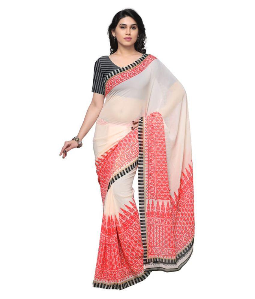 Shopkio Multicoloured Bhagalpuri Silk Saree