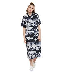 The Silhouette Store Polyester Shirt Dress