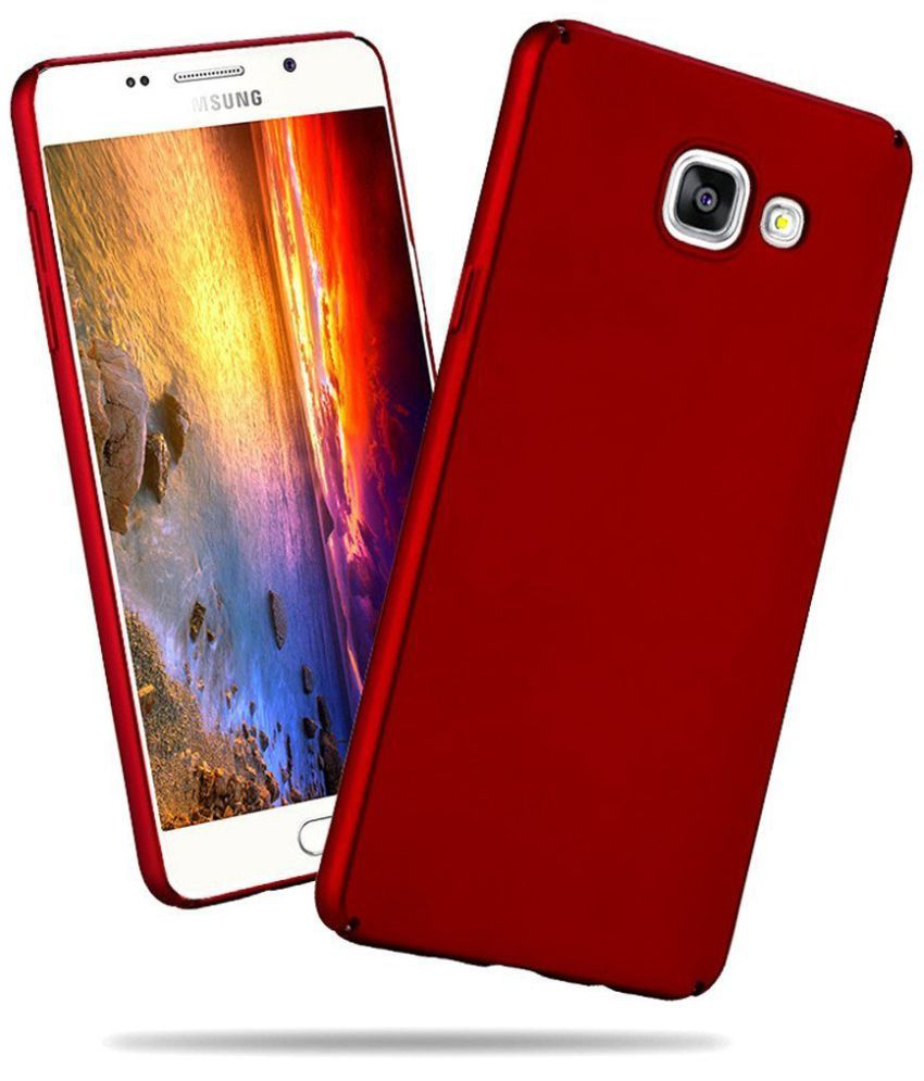 best sneakers 4d1d8 6dbaf Samsung Galaxy J5 Prime Plain Cases Ipaky - Red