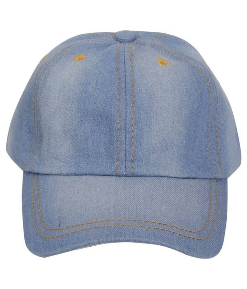 5115301fb19 Friendskart Blue Denim Baseball Cap Best Quality Cap For Mens