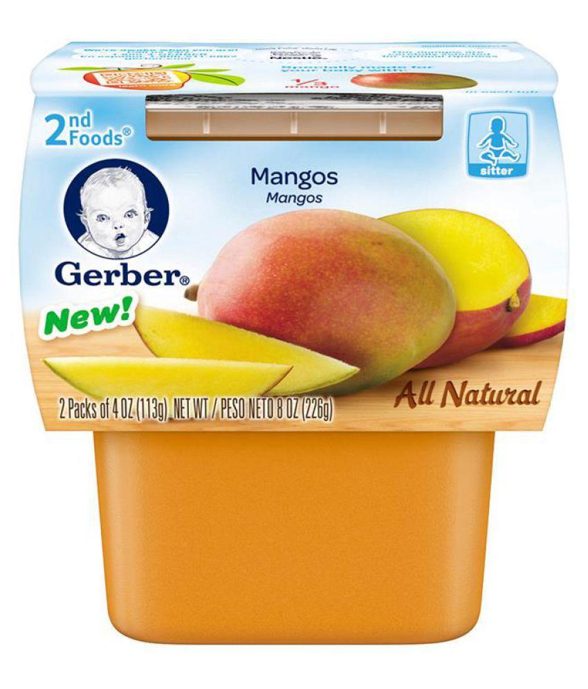Gerber Mangos Snack Foods for 12 Months + ( 226 gm )