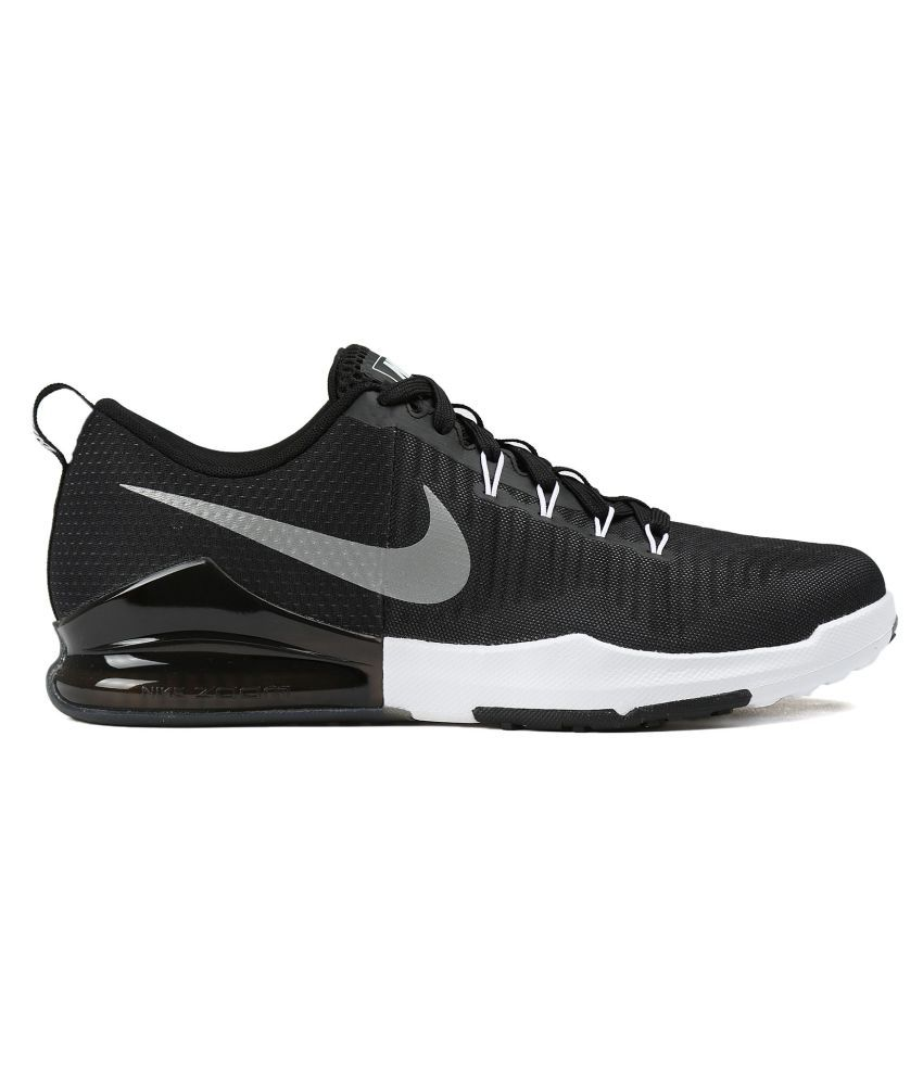 buy popular 5cbc4 78a49 ... Nike Zoom Train Action Black Training Shoes ...