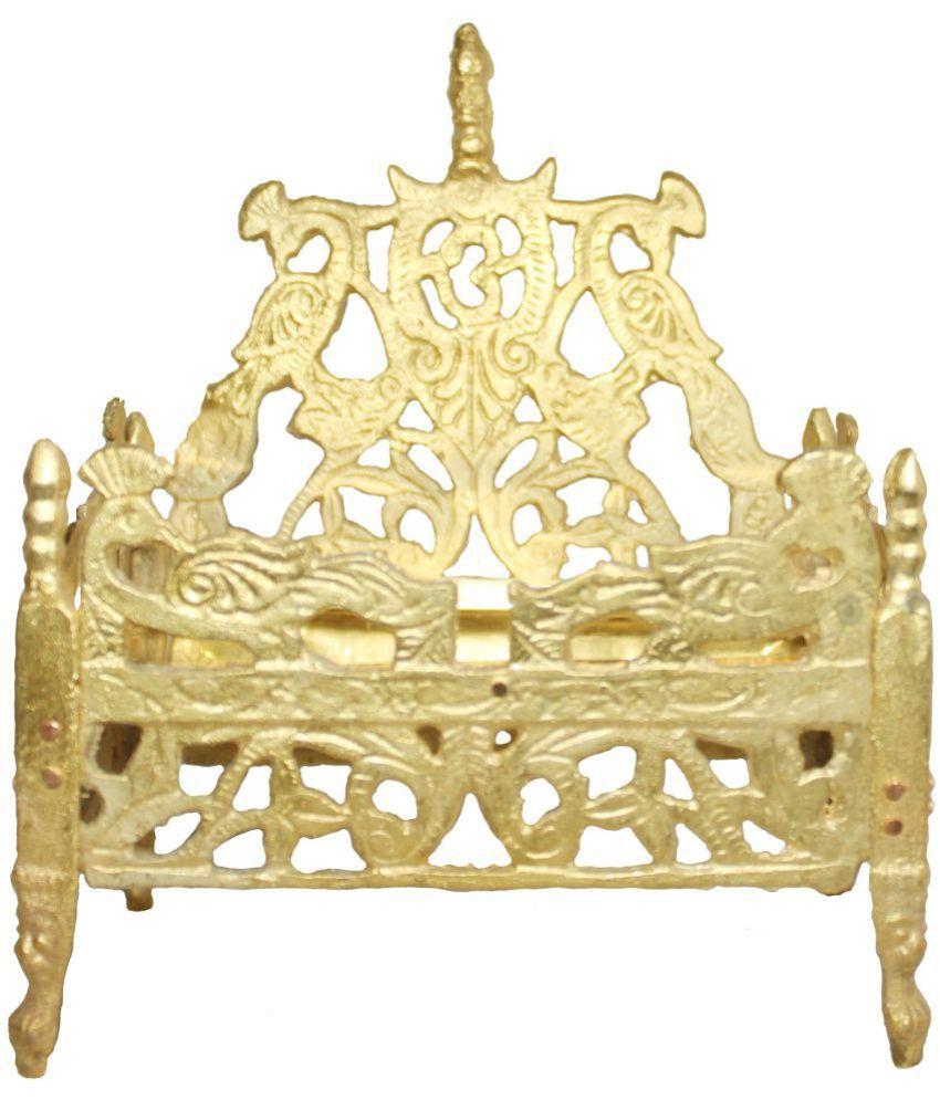 Shriram Traders Brass Singhasan