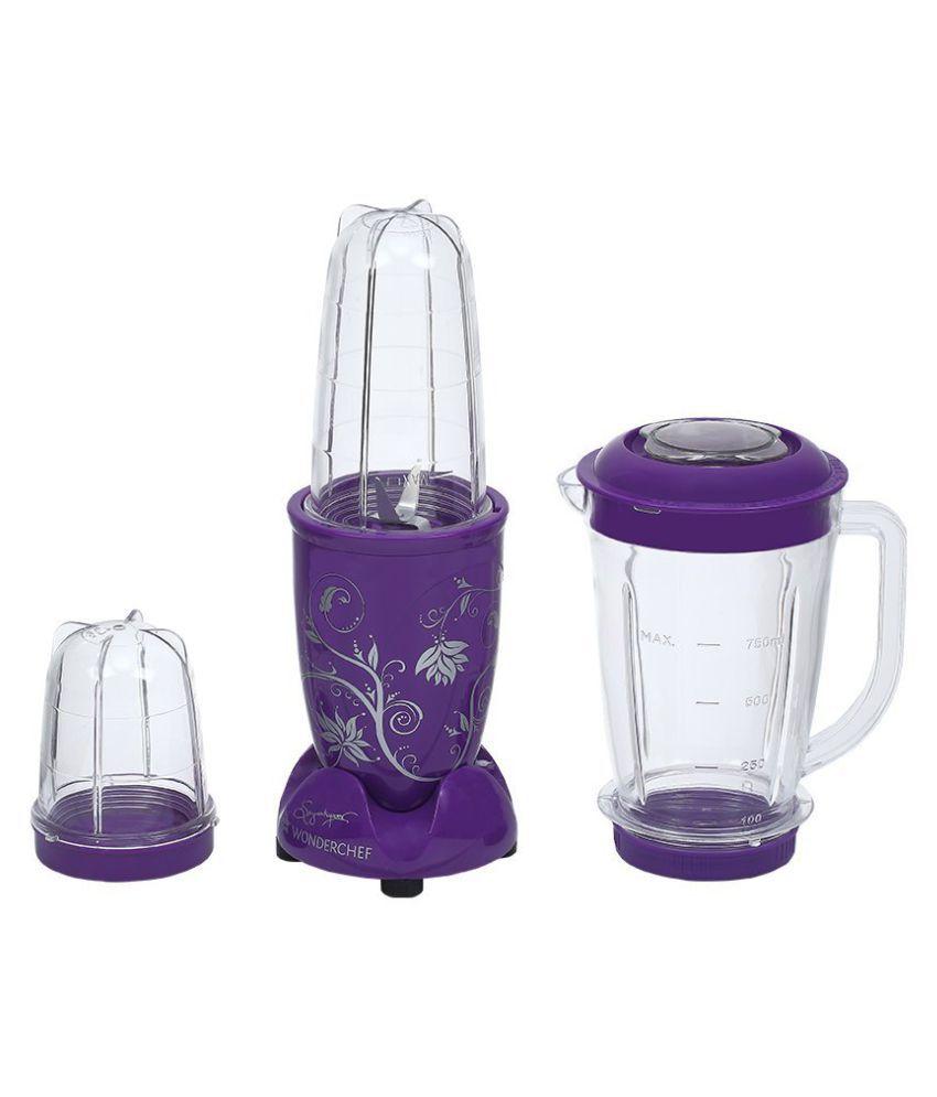 Wonderchef Nutri Blend 400 Watt 3 Jar Mixer Grinder Price